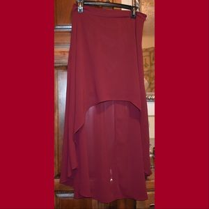 Forever 21 high low skirt worn once size L